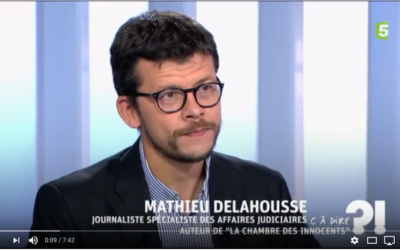 Mathieu Delahousse, journaliste