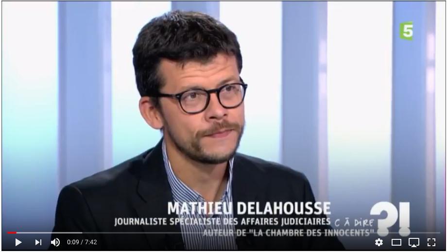 Mathieu Delahousse, journaliste
